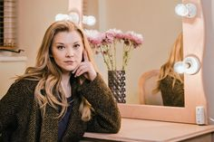 """The English actress Natalie Dormer shares her beauty tips. Find out what hair and skincare products, makeup, and fragrances the """"Game of Thrones"""" star uses to look her best. (Photo: Tom Jamieson for The New York Times)"""