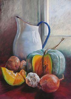 still life - Potential Pumpkin Soup by Lynda Robinson