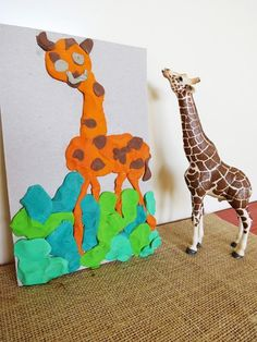an interesting way to teach art: Modelling Clay Pictures via Childhood 101