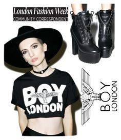 """""""Boy London"""" by bamffaith on Polyvore featuring BOY London and Sugarbaby"""
