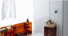 Kartell bathroom organizer