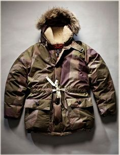 Everest Parka - Camo ‹ Authentic ‹ Nigel Cabourn