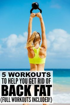 If back fat and bra bulge have you feeling down in the dumps, and you're committed to getting back in shape so you can wear that sexy, backless gown that has been collecting dust in your closet for years, give some of these at-home workouts to get rid of back fat a try. You'll be amazed at how much the exercises transform your body and posture, and how much your self-confidence increases as a result! Full workout videos included!