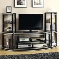 FREE SHIPPING! Shop Wayfair for Wildon Home ® Demuline Entertainment Center - Great Deals on all Furniture products with the best selection to choose from!