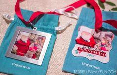 Tiny Prints Christmas Ornaments