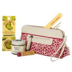 Pamper your mom this year with a gift from my favorite Burts Bees. Comes with a cute travel kit and everything you need for the perfect manicure.