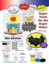 Go Bats for this! Stir! Pour! Bake@ Super tools for the super baker!
