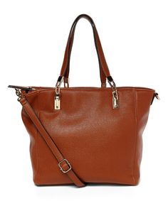 Love this Cognac Celine Tote on #zulily! #zulilyfinds