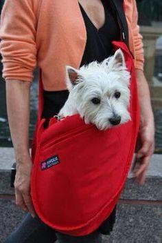 A Westie satchel