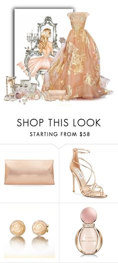 """""""Untitled #6447"""" by cassandra-cafone-wright ❤ liked on Polyvore featuring Elie Saab, Steve Madden and Bulgari"""