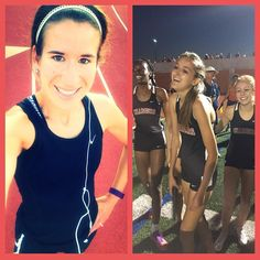 I am one happy coach! This pic is from our 4x4 relay last night right after they finished! These girls got 1st place at the district meet ran a 8 second PR set a new district record and advanced to area!  I got to sleep in this morn and still get to school on time to get in an easy 4 mile run!  The weather was beautiful this morning happy Friday!!  #irun #iamarunner #instarunners #running #runhappy #runhard #runitfast #womensrunningcommunity #alwaysrun #runner #runnerspace #runnerscommunity…