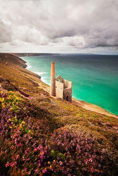 Cornish Tin Mine, West Polberro, Cornwall, England   by Jason Theaker