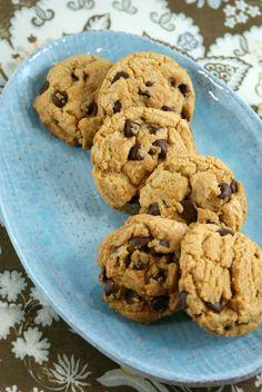 Authentic Suburban Gourmet: Brown Butter & Cream Cheese Chocolate Chip Cookies | Secret Recipe Club