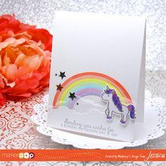 Mama Elephant: Unicorns and Rainbows