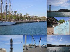 Port Vell - Highlights of Barcelona – The Girls Who Wander The Girl Who, Wander, Highlights, Barcelona, Spain, Louvre, Building, Girls, Travel