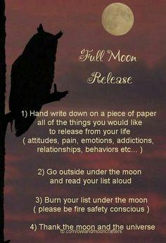 Moon: #Full #Moon Release.