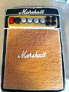 Marshall amp stack cake