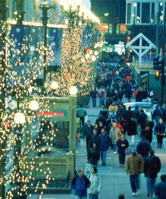 Make sure you hit all the popular shopping spots in Chicago. Chicago Shopping, City Guides, New Orleans, Places Ive Been, Times Square, Destinations, Good Things, Popular, Travel