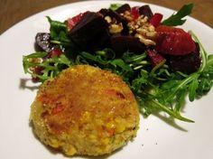 Recept: Veggieburger makkelijk zelf gemaakt - Healthy Vega Vegetable Recipes, Vegetarian Recipes, Cooking Recipes, Healthy Recipes, Cooking Tips, Healthy Diners, Pesco Vegetarian, Paleo, Vegan Dinners