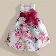 Cheap children clothes, Buy Quality fashion girl dress directly from China girls dress Suppliers: Super Bow Girls Dresses Red Flower Fashion Christmas Party Birthday Kids Dress Tribute Silk child clothes Kids Outfits Girls, Little Girl Dresses, Girl Outfits, Girls Dresses, Flower Girl Dresses, Kids Girls, Flower Girls, Fashion Kids, The Dress