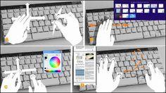 モーションセンサー搭載でスワイプ&ジェスチャー操作が可能なキーボードをMicrosoftが開発 - GIGAZINE