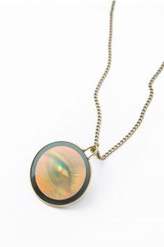 Hologram Eye Necklace
