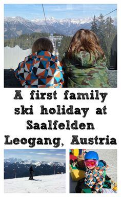 We were invited to stay at Puradies in Saalfelden Leogang, a family-friendly ski resort in the Austrian Alps. Here's how our first family ski holiday went.