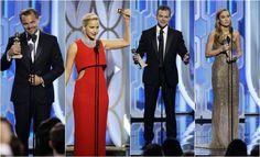 Jennifer Lawrence and Nicholas Hoult at Golden Globes 2016... #JenniferLawrence: Jennifer Lawrence and Nicholas Hoult at… #JenniferLawrence