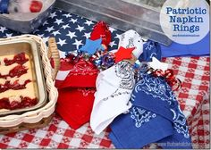 4th of July Napkin R