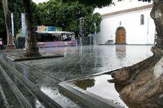 Plaza de Los Llanos de Aridane. Islas Canarias.
