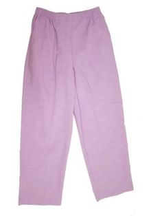 Alfred Dunner Silver Spring Elastic Waist Pants Lilac 8P M Alfred Dunner. $26.99