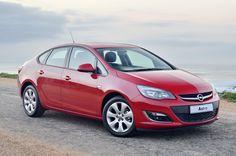 Our Opel Astra Sedan.