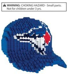 Forever Collectibles Toronto Blue Jays Brxlz 3D Baseball Cap Puzzle -  Assorted Puzzle Man c6e0495c7d2d