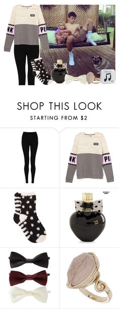 """Babysitting Skylynn with Hayes Grier"" by retailmaven ❤ liked on Polyvore featuring moda, M&S Collection, Free Press, Aéropostale, Forever 21, Topshop, Happy Plugs, women's clothing, women i female"