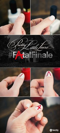 Pretty Little Liars nails are a MUST for the Fatal Finale.