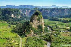 "Sianok canyon""ngarai sianok. Bukittinggi.sumatera barat. Indonesia"