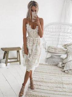 53a5720ec76de 91 Best White party images | Elegant dresses, White dress, Formal ...