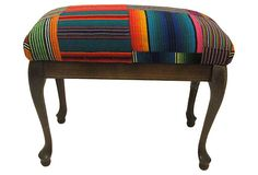 cool idea if you find old stool you can use a fun fabric to re-do it :)
