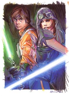 Best couple from the licensed SW fiction.