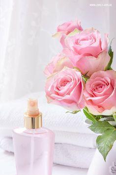 Rosenwasser Body Spray DIY Anleitung zum selber machen und herstellen