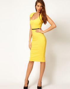 Dress In Yellow - $77