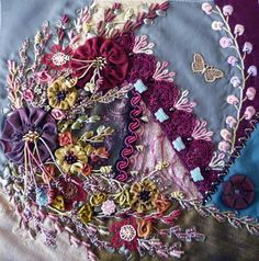 crazy quilts | Another crazy quilt Block to share - pintangle.com