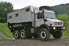 if motorhome then such a -> Unicat MD andyrx - Motor Vehicles Mercedes Benz Unimog, Mercedes Truck, Overland Truck, Expedition Vehicle, Expedition Trailer, Jeep Truck, Truck Camper, Offroad Camper, Cool Trucks