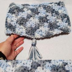 Cuello bufanda Infinita de crochet