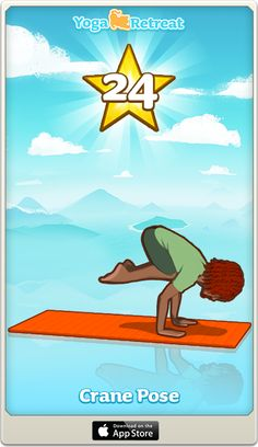 Join me in playing Yoga Retreat, I just reached level 24!