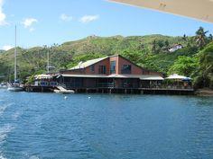 Savusavu, Fiji (copra shed)