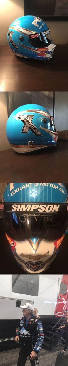 Racing-NHRA 2878: Nhra 2017 John Force Race Helmet Funny Car Nitro Rare Drag Racing Signed 16X -> BUY IT NOW ONLY: $3750 on eBay!