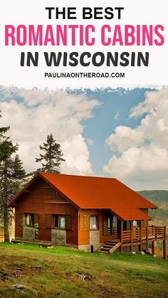 If you are looking to enjoy an off-beat vacation in a cabin, Wisconsin should definitely be at the top of your list, and, especially for romantic getaways in Wisconsin.Although it is primarily celebrated for its beer and cheese culture, there is a lot more that draws people to it. Romantic Getaways In Wisconsin, Romantic Cabin Getaway, Cabins In Wisconsin, Wisconsin River, Getaway Cabins, European Destination, European Travel, Honeymoon Cabin, Pet Friendly Cabins