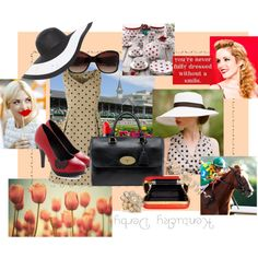 what i would wear to the Kentucky Derby !, created by croquette on Polyvore