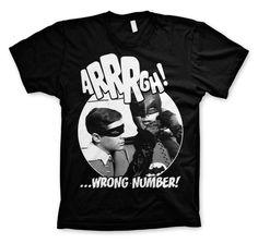 Batman Arrrgh - Wrong Number Koszulka Męska